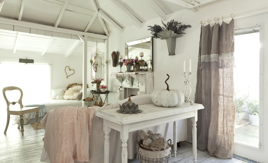 Romantic prairie style for Country style arredamento